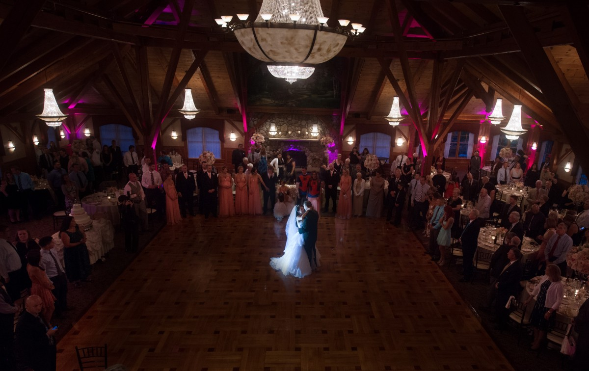 First Dance in the Grand Sequoia Ballroom