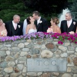 Wedding Party on the Stone Bridge at TCC