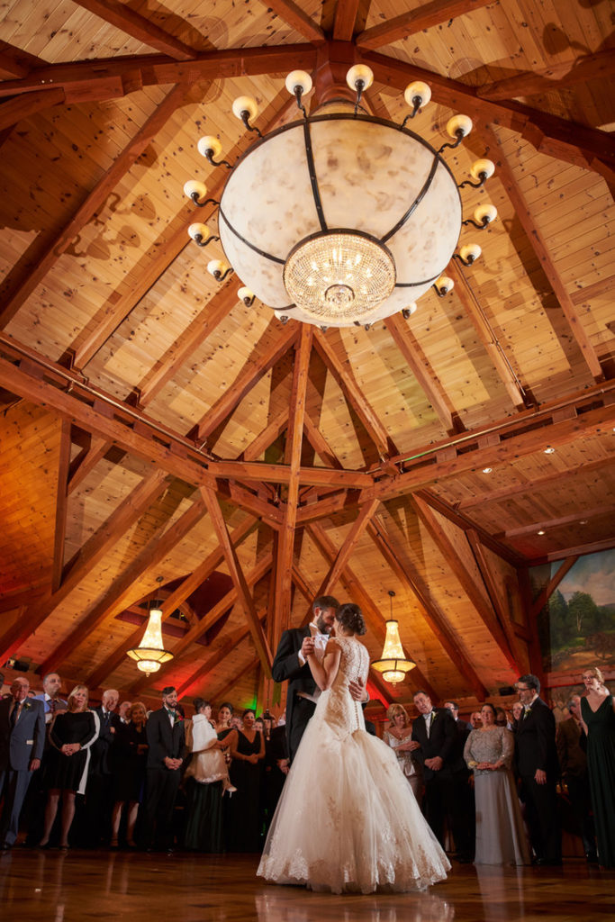First Dance A Wedding In The Grand Sequoia Ballroom At Tewksbury Country Club