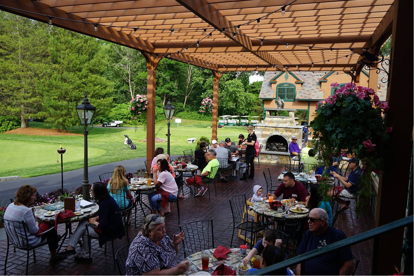 Eat Outside On The Patiotewksbury Country Club